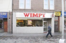 Full Fitted Former Wimpy Restaurant For Sale In Town Centre Location Over 50 Covers