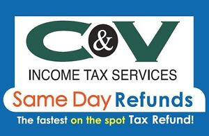 VOTED ONE OF LONDONS BEST TAX COMPANIES - OPEN YEAR ROUND !!! London Ontario image 2