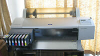 "Epson Stylus Pro Archival 7600 -LARGE Printer 24"" x unlimited"
