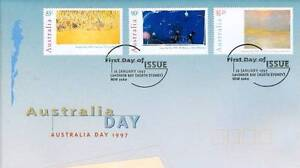 Australia Day 1997 Aust Post stamp issue Issued 16 February 1997 West Perth Perth City Area Preview