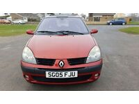 05 RENAULT CLIO 1.2 DYNAMIQUE 5 DOOR CHEAPER TAX & INSURANCE GREAT FIRST CAR