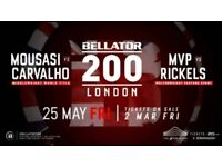 Bellator 200 ticket below face value