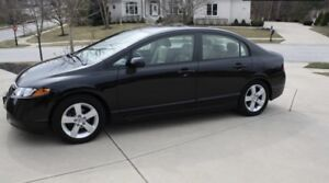 2006 Honda Civic ex with low km winter tires and remote start
