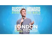 Russel Howard Round The World Live Tour