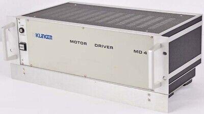 Newport Klinger Md4.2 Stepping Motor Driver Controller Unit 4u Rackmount