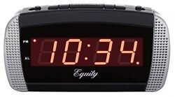 Equity by La Crosse 30240 Super Loud LED Alarm Clock, New, Free Shipping