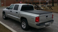 DODGE DAKOTA QUAD CAB: Tri-Fold Tonneau Cover | Box Cover