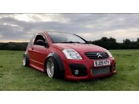 Citroen C2 1.4 VTR HDi - Hot Hatch - Air Ride - Alloys/Spacers - Low Miles