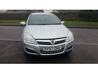 57 VAUXHALL ASTRA 1.6 LTD EDITION 5 DOOR CLUB IN STAR SILVER ONLY 62000 MILES