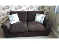 Pair of matching sofas like brand new £200