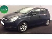 £95.60 PER MONTH BLUE 2011 VAUXHALL CORSA 1.2 SXI 5 DOOR PETROL MANUAL