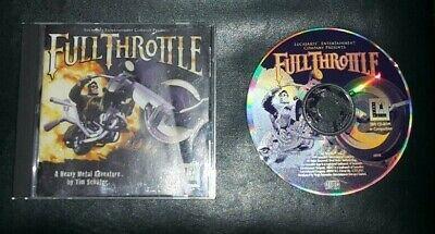 LucasArts: Full Throttle Retro Game for the PC, CD-ROM - VGC, usado comprar usado  Enviando para Brazil