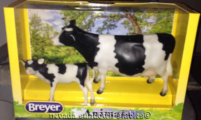Breyer Model Cows Holstein Cow and Calf