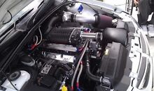 HOLDEN 355 STROKER WHIPPLE BLOWER WITH BUILT 4 SPEED AUTO 3K CONVERTER Birkdale Redland Area Preview