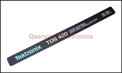 Tektronix Model Identification Handle Badge For Tds420 Digital Oscilloscopes