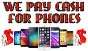 WE PAY CASH FOR SMARTPHONES, TABLETS, IPODS, IPADS