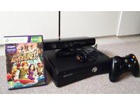 Xbox 360 Slim + Kinect Sensor and Kinect Adventures