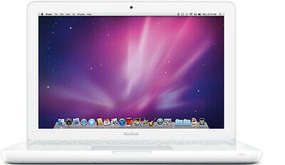 "Apple MacBook White 13"" Mid-2010 A1342 8GB RAM 120GB SSD WiFi BT DVDRW UPGRADED!"