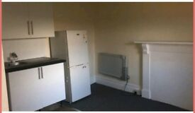 One bedroom Self-Contained studio flat with Private Terrace @ £90.00/week Available immediately