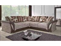 🖤⭕ BEST QUALITY SHANNON CORNER/ 3+2 SEATER SOFA, WITH FREE DELIVERY🖤⭕