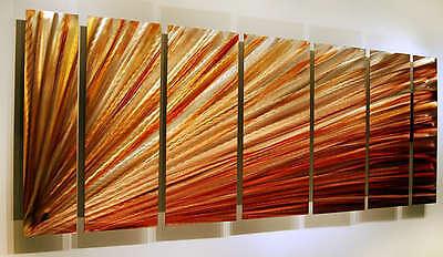 Statements2000 3d Metal Wall Art Panels Modern Gold Painting Sculpture Jon Allen