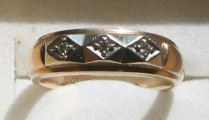 Mens Wedding Ring with Diamonds