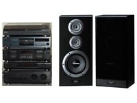 Sony Stereo System with Turntable