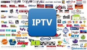 IPTV MEGA SALE $40.00 FOR 12 MONTHS NO FREEZING  BEST SERVICE !!