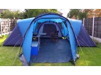Van goo 6 man tent used