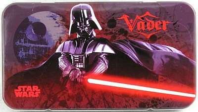 Star Wars Tin Box Co. Darth Vader Pencil Storage Case NEW! Back to school !