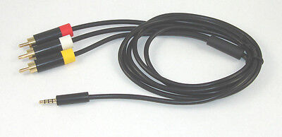 USA SELLER NEW XBox 360 E Composite AV Cable RCA for sale  Shipping to South Africa