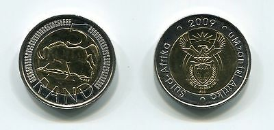 Used, South Africa 2009 Uncirculated R5 Bi-metallic Coin SARB Umzantsi Afrika for sale  Shipping to South Africa