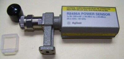 Fully Functional Agilent R8486a Waveguide Power Sensor 26.5-40ghz 1uw To 100mw