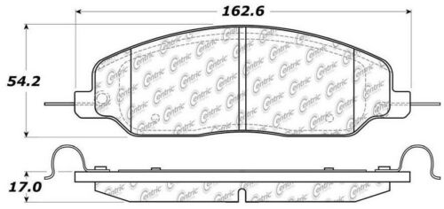 Disc Brake Pad Set fits 2005-2010 Ford Mustang C-TEK BY