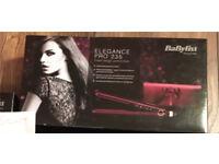 BaByliss Pro 235 Elegance Hair Straighteners - BNIB