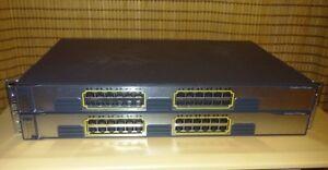 Cisco Catalyst 3750G-24TS-E 10/100/1000 24-Port Switch