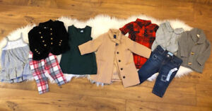 BEAUTIFUL Fall Style Baby Girl Clothing - See Pictures