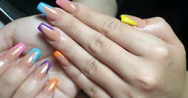 Gel nails extension