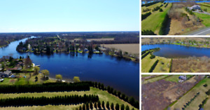 Build Your Dream Home on 3 acres of Waterfront Land ⛵