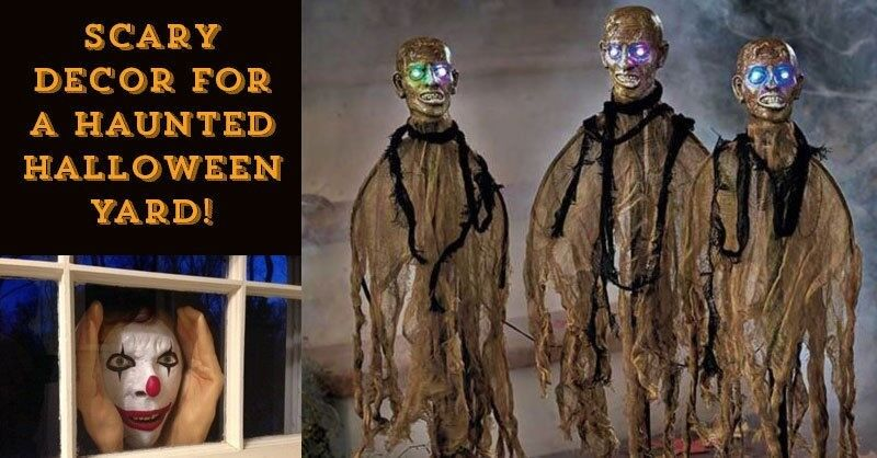 Scary Decor for a Haunted Halloween Yard!