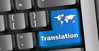 Translation & Proofreading En <> Fr <> Ar at REASONABLE Prices