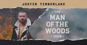 Justin Timberlake - Man Of The Woods Concert Tickets