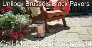 Brussels Block Pavers Unilock Interlock Pavers
