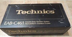 Technics EAB-C461 4 Inch Coaxial Speakers Brand New In Box