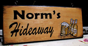 Custom hand carved personalized wood sign Peterborough Peterborough Area image 10