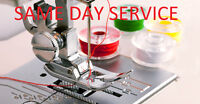 SAME DAY SERVICE - ALL KIND OF ALTERATIONS AND REPAIRS