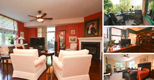 Stunning Luxury Condo backing on the Rideau River in Lower Town