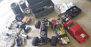 Hpi Savage X 4.6 rc truck with reverse and accessories