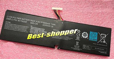 "GMS-C40 battery for Razer Blade Pro 17"" Pro 2015 Pro 2013 RZ09-00991101 USA ship"