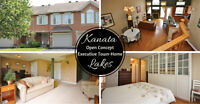 Stunning Open Concept, Executive Townhome in Kanata Lakes